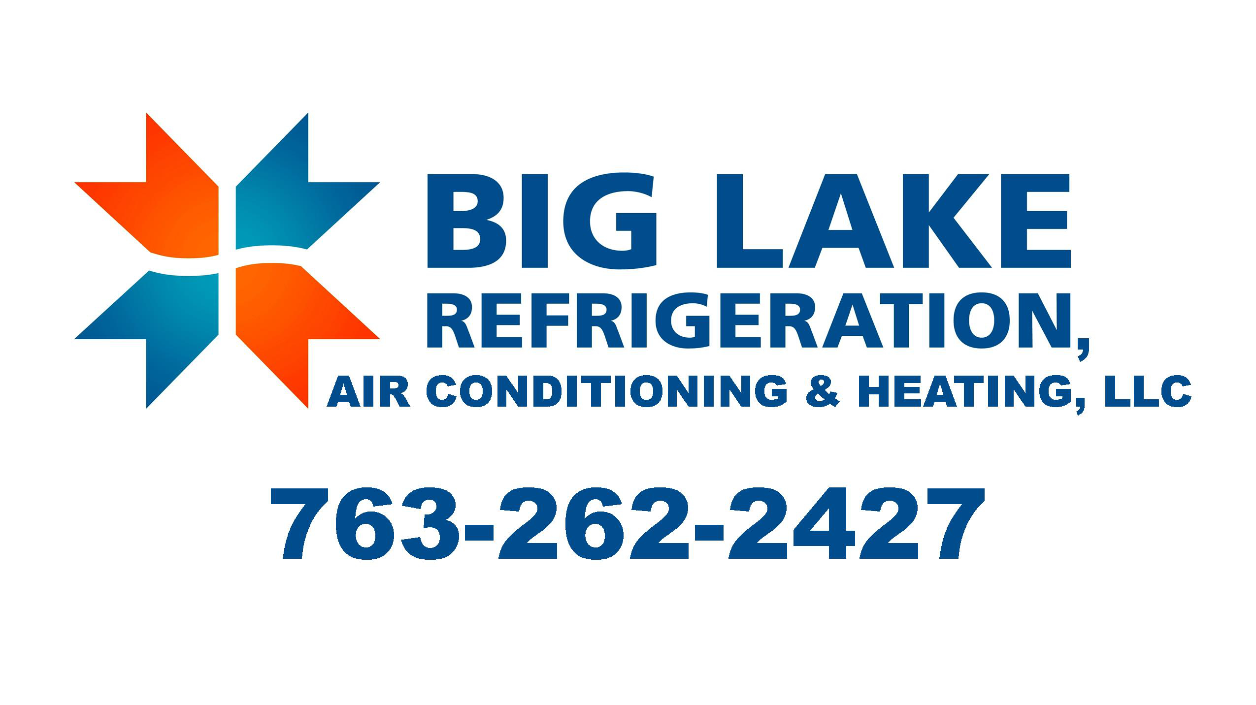 Big Lake Refrigeration Logo
